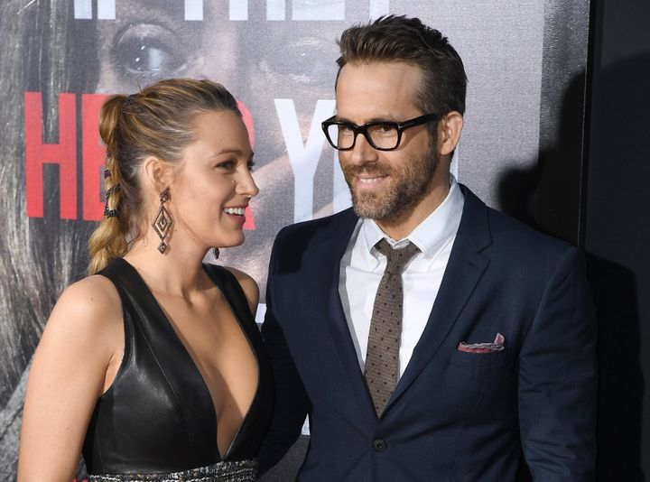 "Blake Lively and Ryan Reynolds attend a premiere of ""A Quiet Place"" in April."