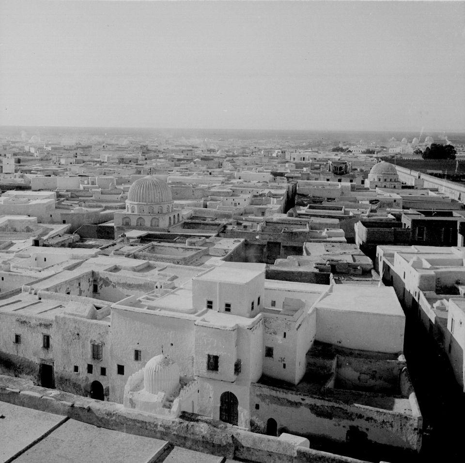 Kairouan d'en haut en