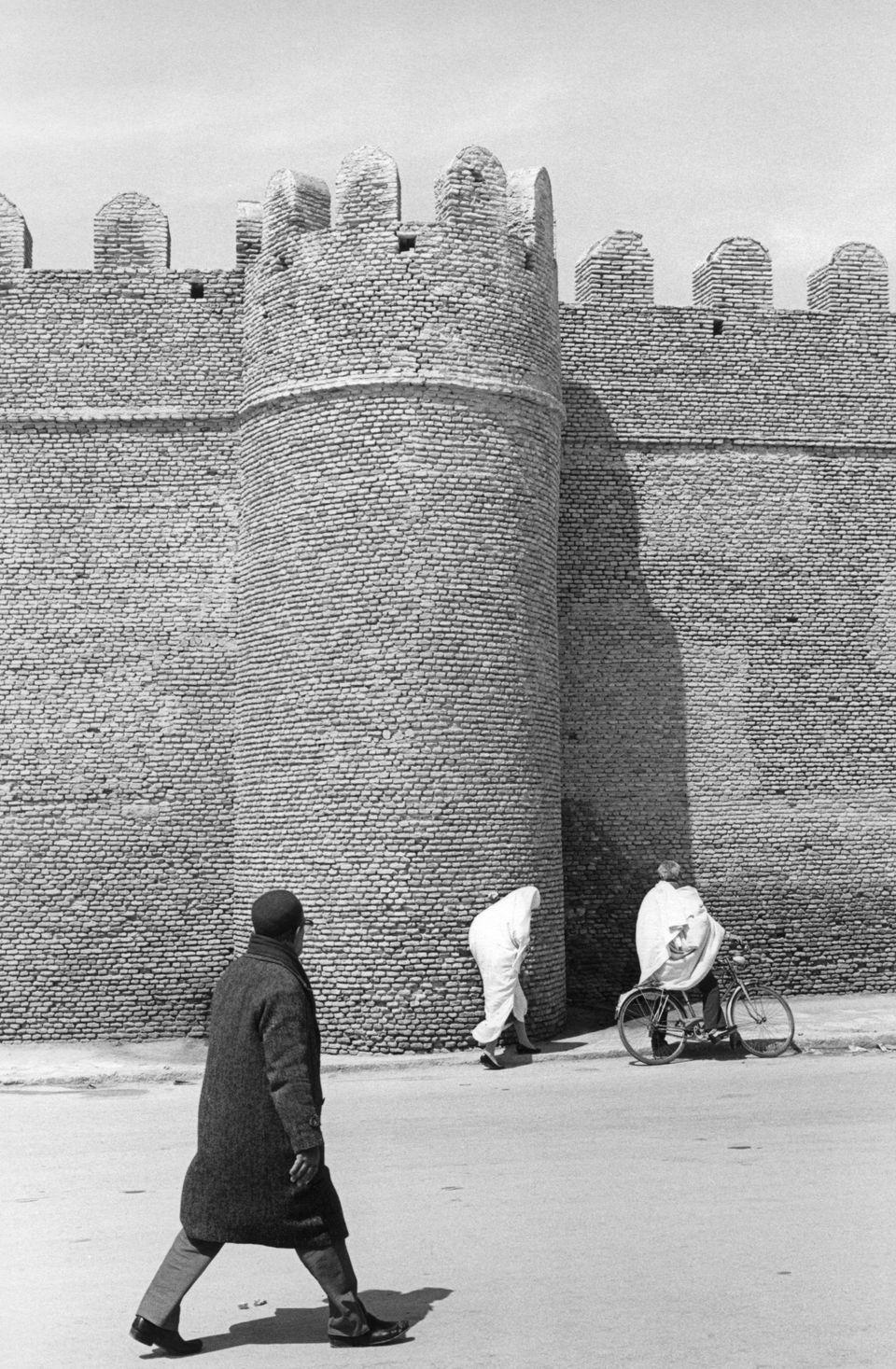 Les remparts de Kairouan en
