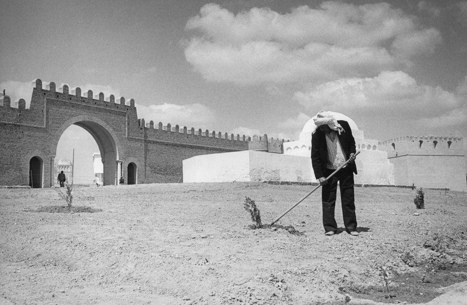 Porte des remparts de Kairouan en