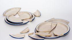 Ne jetez plus votre vaisselle cassée, transformez-la en magnifique objet avec le