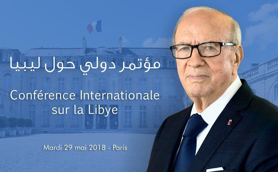 Béji Caïd Essebsi mardi à Paris pour une conférence internationale sur la