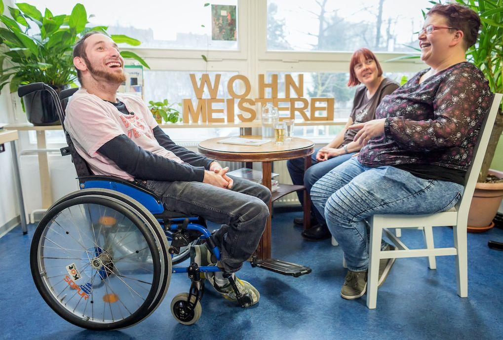 Mandy Glede hilft Menschen mit Behinderung, ein besseres Leben zu führen – sie weiß, was in ihnen vorgeht