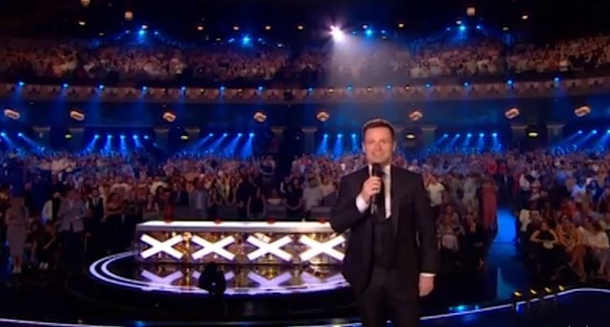 Dec Jokes About Ant's Absence As He Kicks Off 'Britain's Got Talent' Live Shows