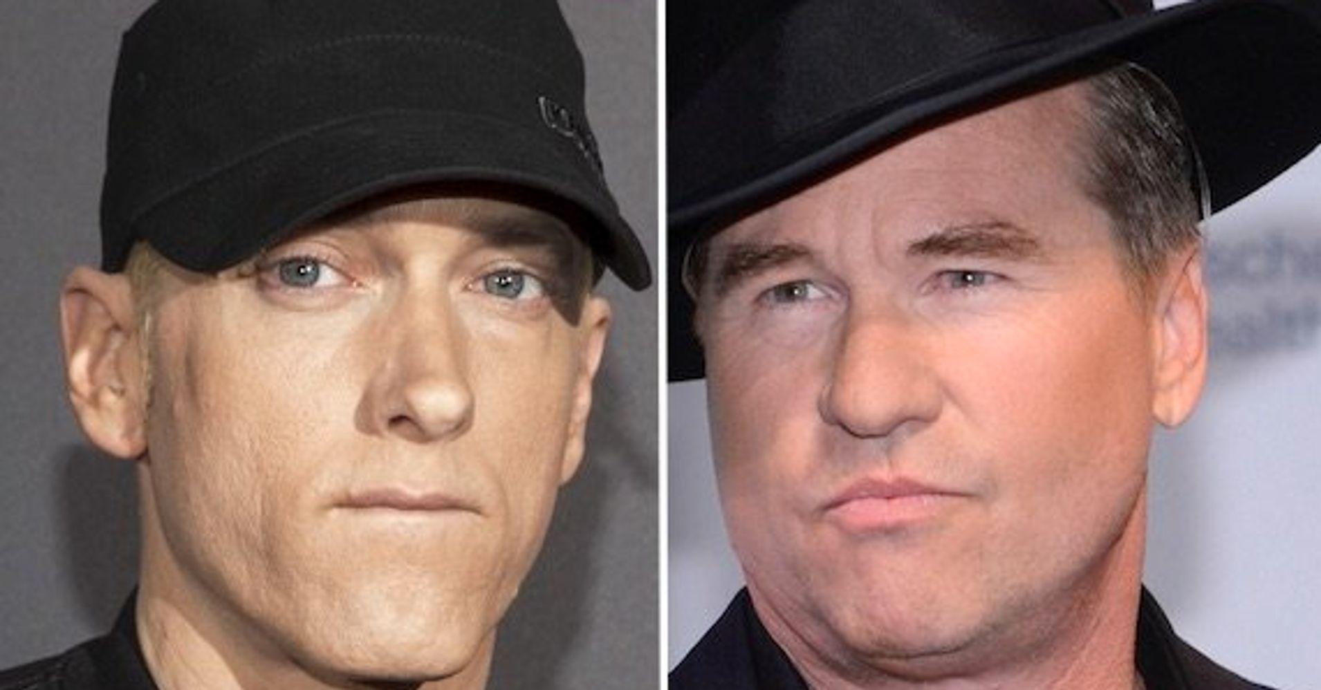Eminem confesses he once flashed his penis to Val Kilmer