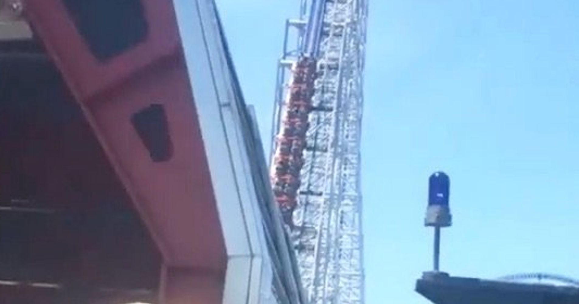 Roller Coaster Riders Stuck In 90-Degree Heat During Power Outage At Theme Park