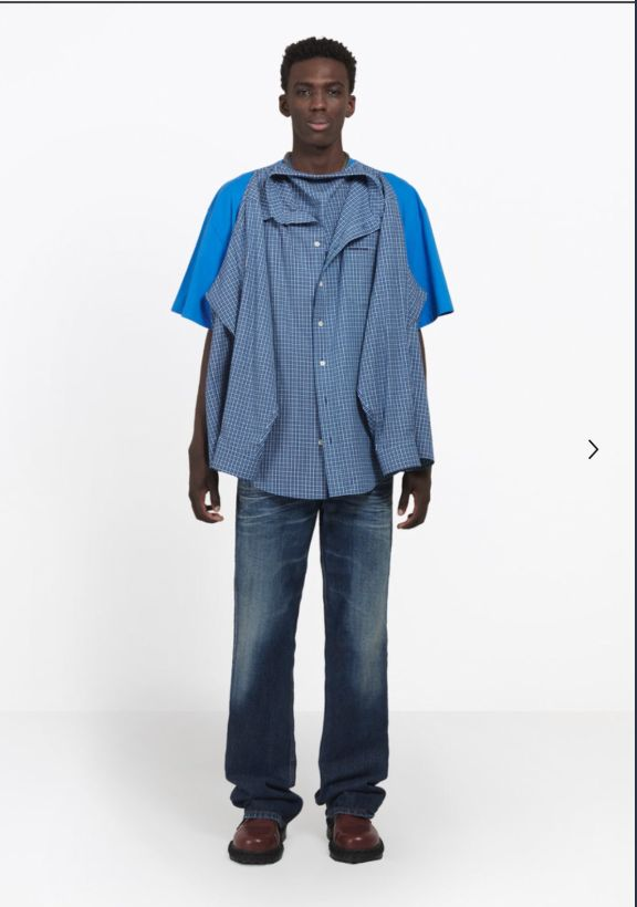 'What Is That?' Balenciaga's £935 T-Shirt Shirt Roundly