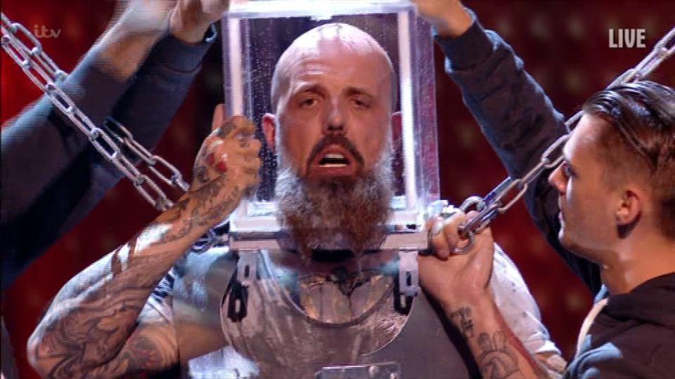 'BGT' Escape Artist Matt Johnson Gestures For Help During Terrifying Stunt