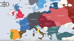 H ιστορία της Ευρώπης από το 400πΧ:Σύνορα,λαοί και οι ηγέτες που κυβέρνησαν βασίλεια, αυτοκρατορίες και δημοκρατίες σε ένα