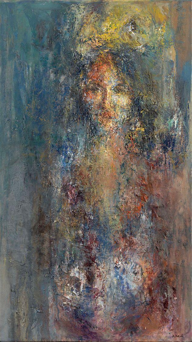 X'oros (115 x 65εκ.). Λάδι σε