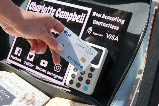 You Can Now Pay Buskers Using A Contactless Card Or