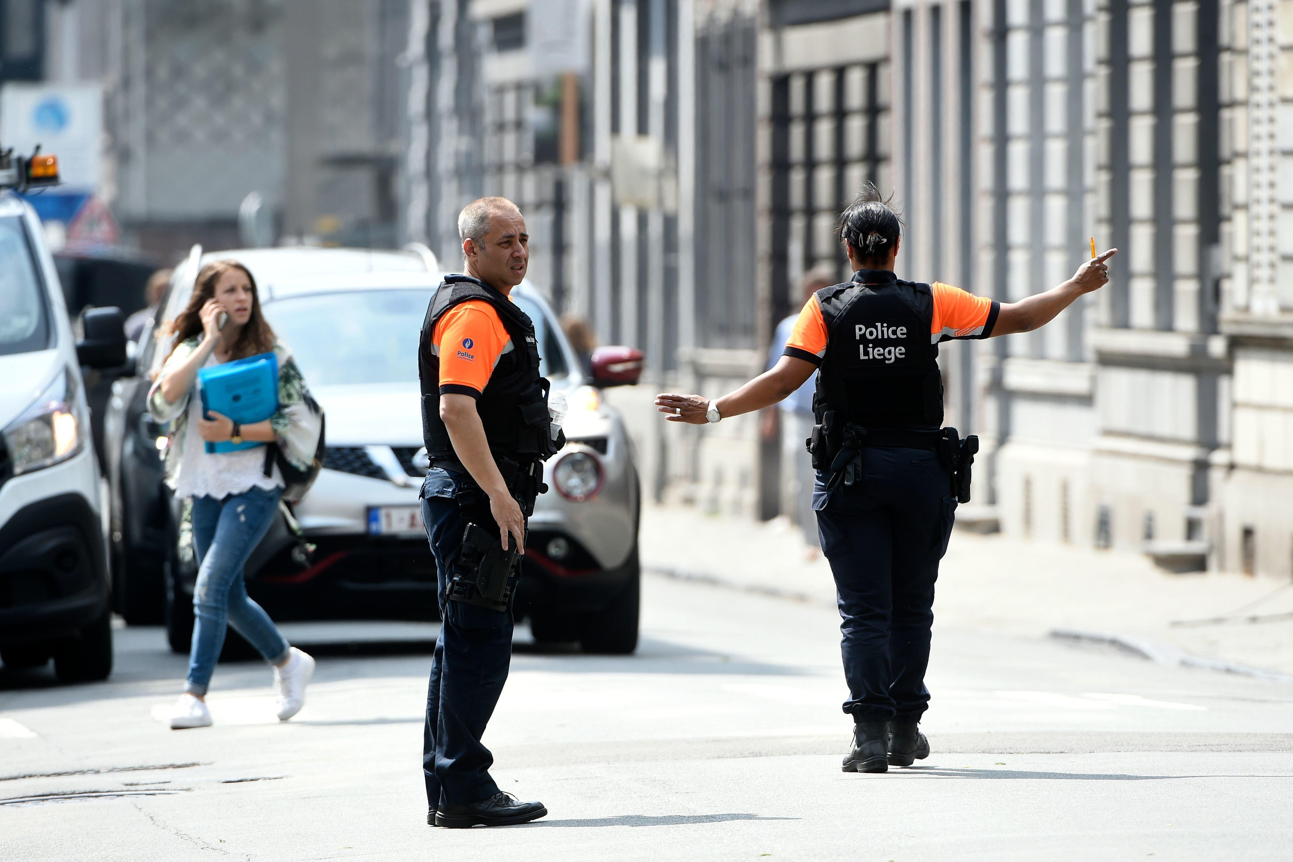 4 morts dans une fusillade près d'un lycée à Liège, dont l'assaillant