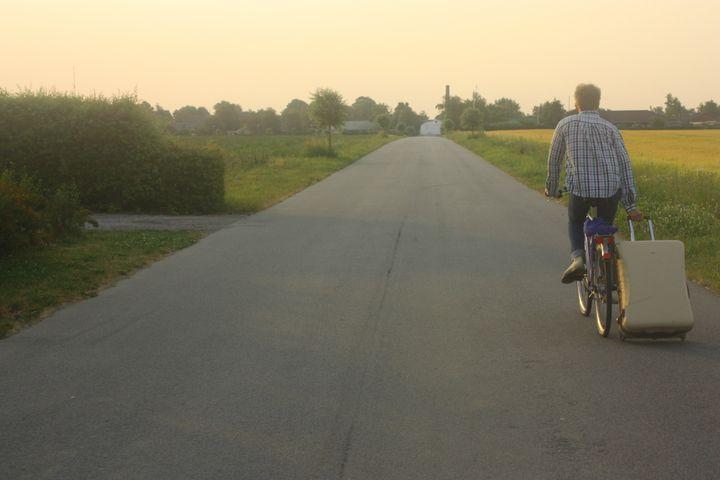 Kristoffer, now 30, grew up cycling in Copenhagen.