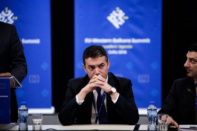 Ο Ντιμιτρόφ βλέπει «ισχυρή αποφασιστικότητα» από Σκόπια και Αθήνα για την επίλυση του ζητήματος του ονόματος...