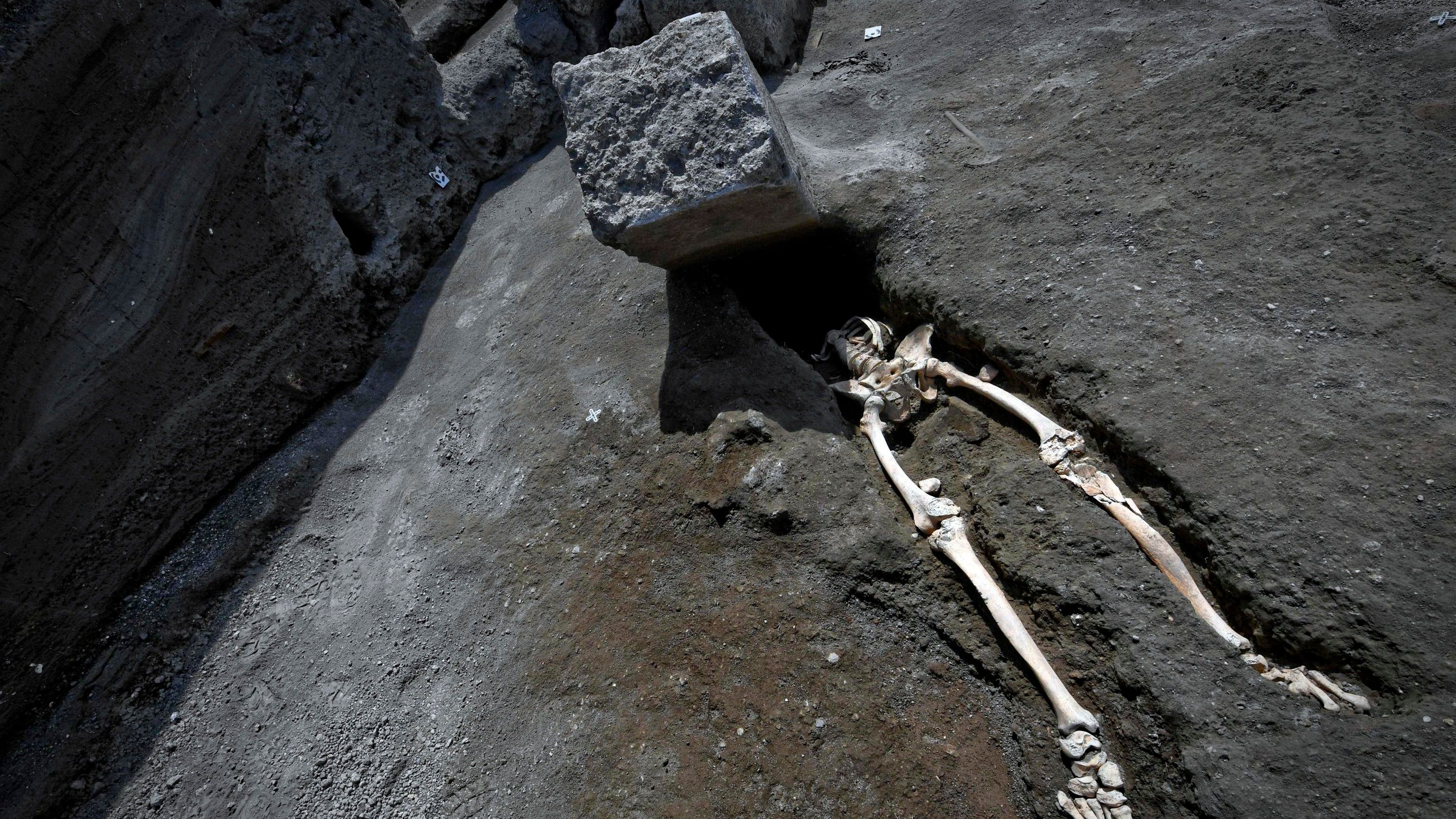 The Latest Pompeii Skeleton Find Is Doubly