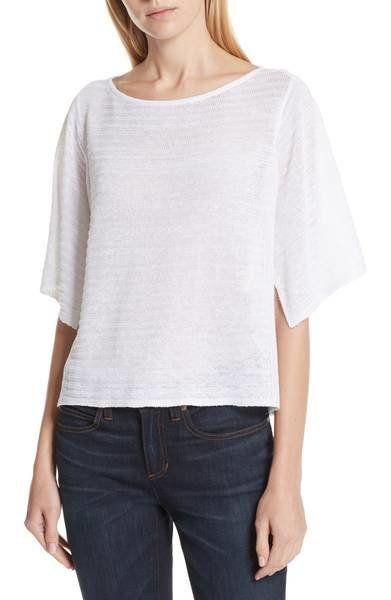 "Get it from <a href=""https://shop.nordstrom.com/s/eileen-fisher-slit-sleeve-organic-linen-sweater/4963734?origin=keywordsearc"