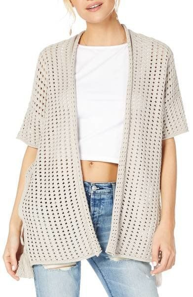 """Get it from <a href=""""https://shop.nordstrom.com/s/michael-stars-open-cotton-sweater/4958913?origin=keywordsearch-personalized"""