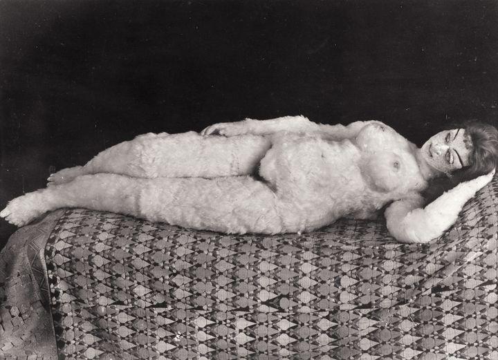 """Hermine Moo's """"Alma doll,"""" 1919."""