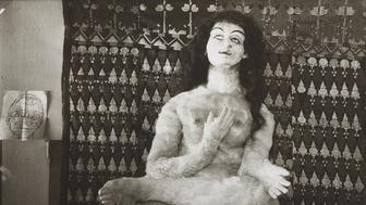 Oskar Kokoschka's Alma doll, 1919. Private Collection. (Photo by Fine Art Images/Heritage Images/Getty Images)