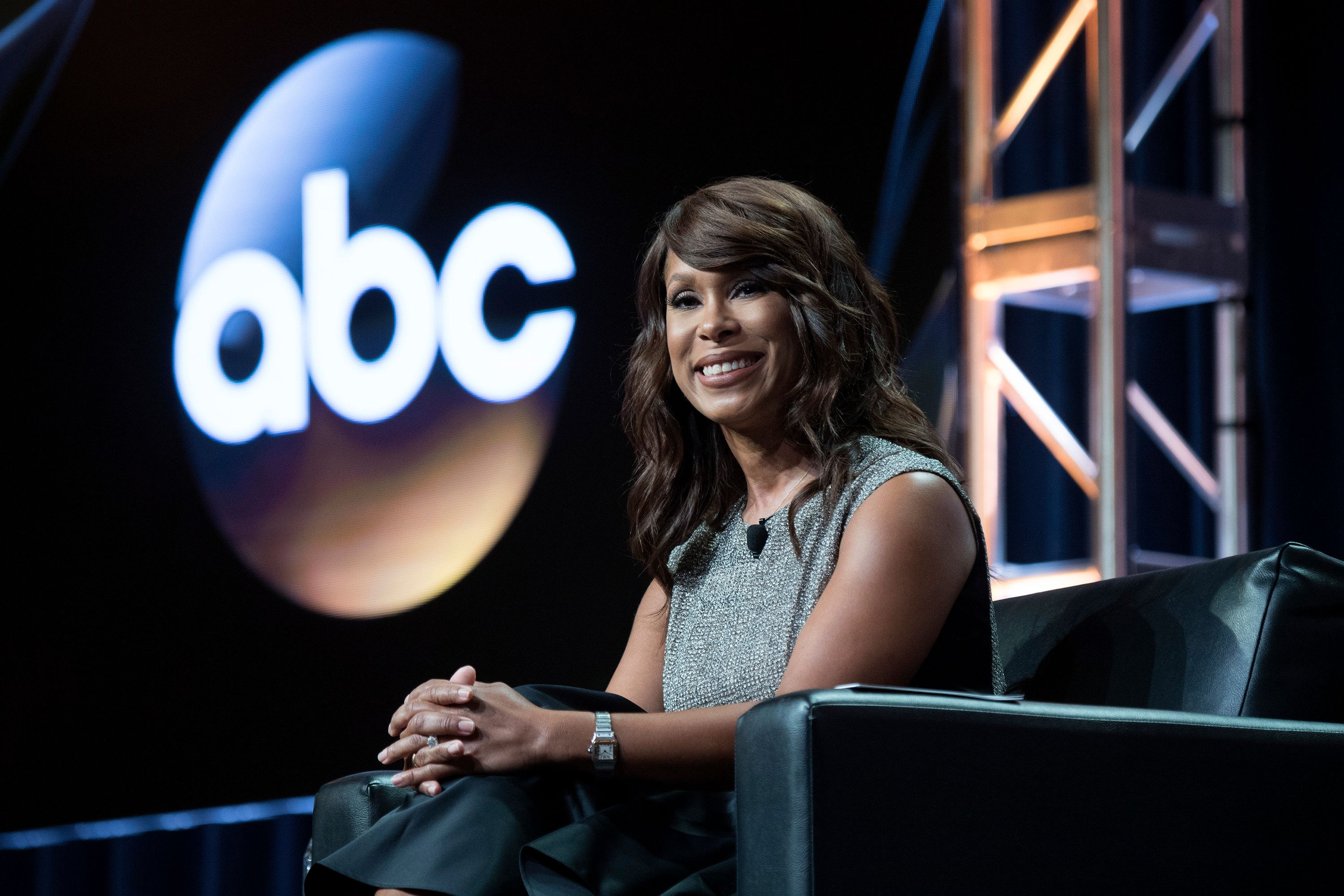 TCA SUMMER PRESS TOUR 2017 - ABC Executive Session & Writing Time - Channing Dungey (President, ABC Entertainment) addresses the press at Disney | ABC Television Group's Summer Press Tour 2017 at The Beverly Hilton in Beverly Hills, California. (ABC / Image Group LA via Getty Images)