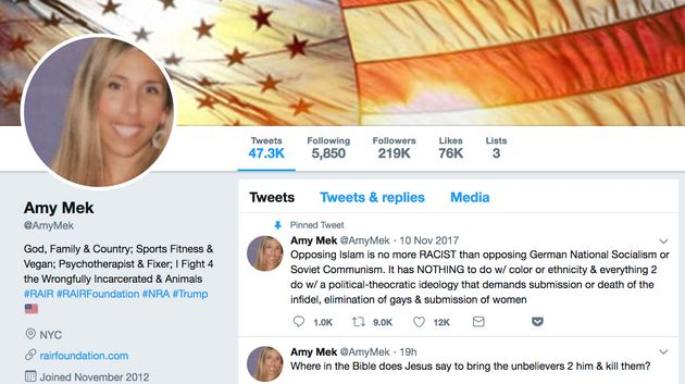 8fba780e Trump's Loudest Anti-Muslim Twitter Troll Is A Shady Vegan Married To An  (Ousted) WWE Exec
