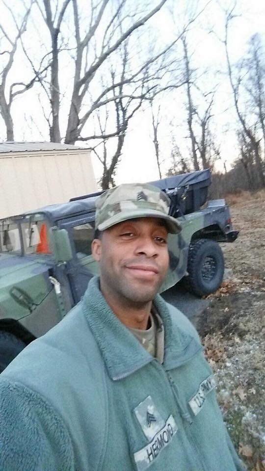 Eddison Hermond 39 was last seen helping a woman and her cat escape the floodwaters