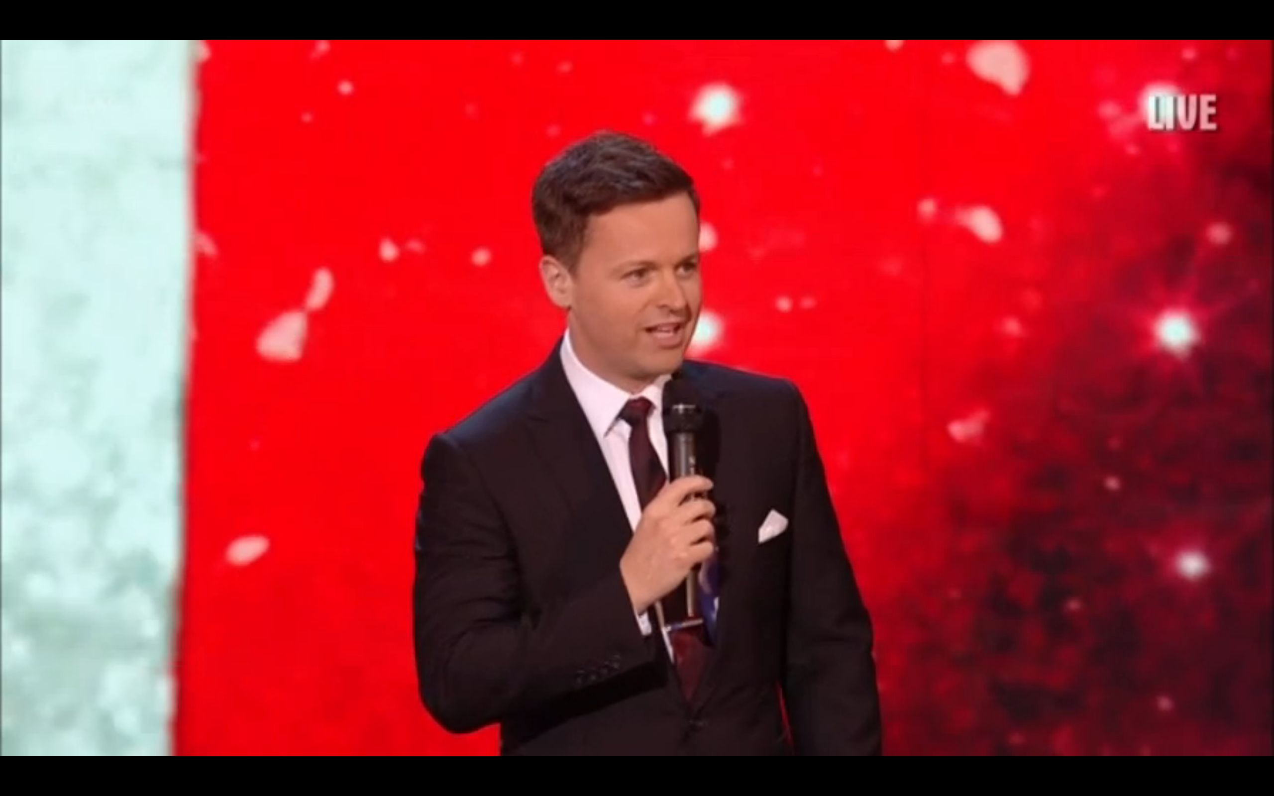 Declan Donnelly Kicks Off Second 'BGT' Live Show With Joke About Previous Night's Technical