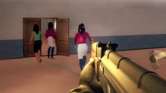 People are calling for the removal of a first-person shooter game called Active Shooter that allows players to carrying out a school shooting