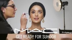 MAC's Ramadan Makeup Tutorial Sparks Debate, Highlights The Holiday's