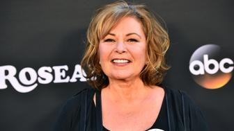 BURBANK, CA - MARCH 23:  Roseanne Barr attends the premiere of ABC's 'Roseanne' at Walt Disney Studio Lot on March 23, 2018 in Burbank, California.  (Photo by Alberto E. Rodriguez/Getty Images)