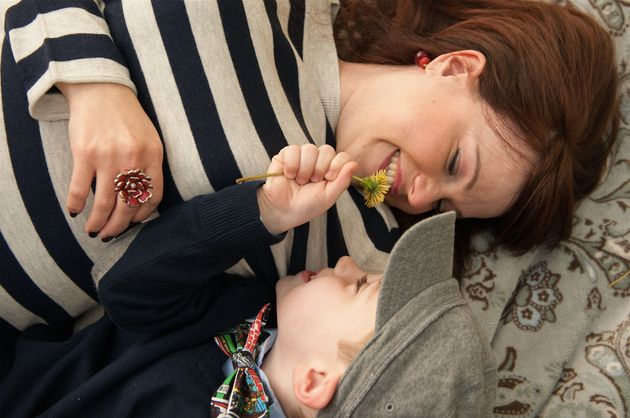 Caitlin Domanico's photography focuses on the mother-child