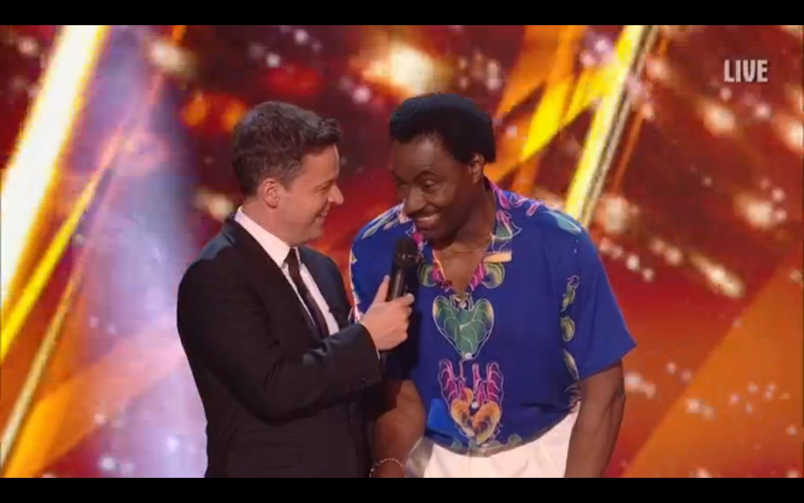 Donchez Dacres Wiggle Wines His Way To The 'Britain's Got Talent' Live Final