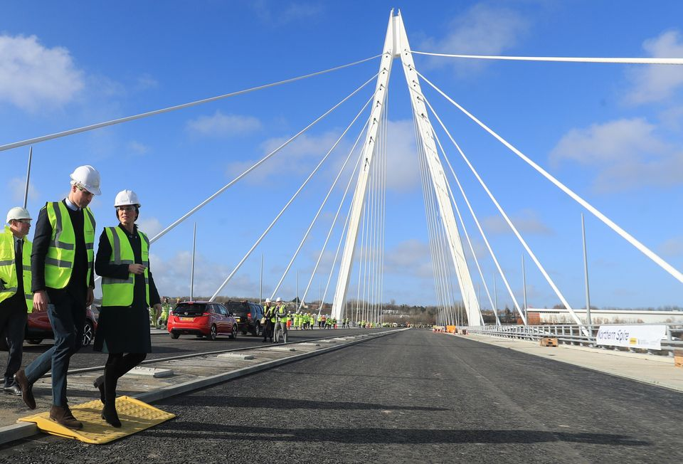 The Northern Spire, a new bridge over the River Wear in Sunderland, is part of a transport plan to help...