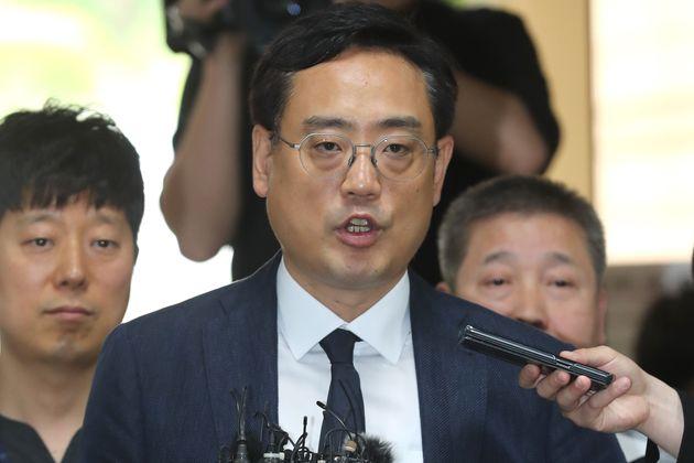 변희재가 구속되기 전 손석희 JTBC 사장에게 남긴