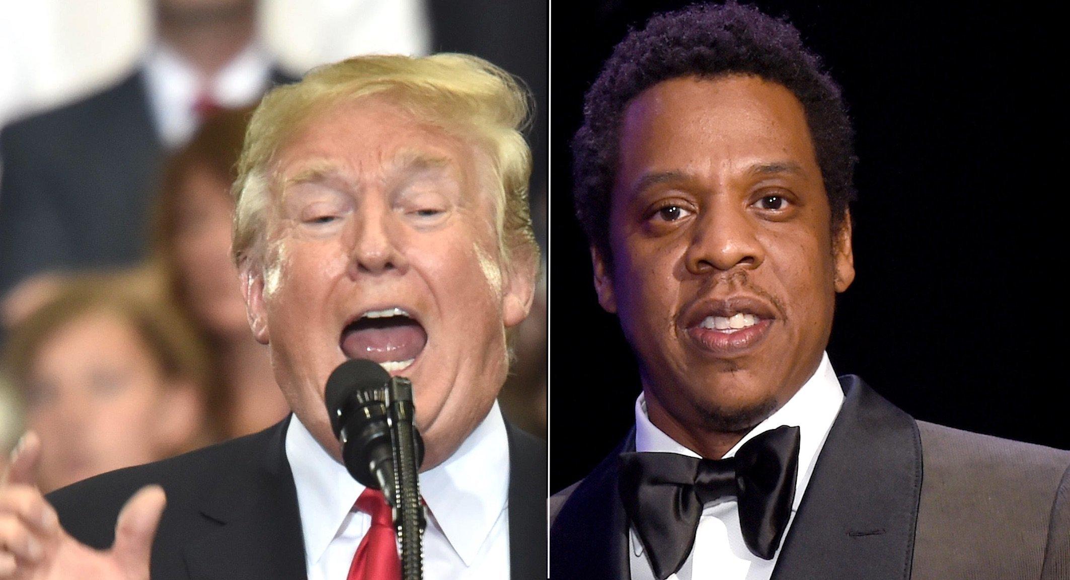 Trump Jay-Z