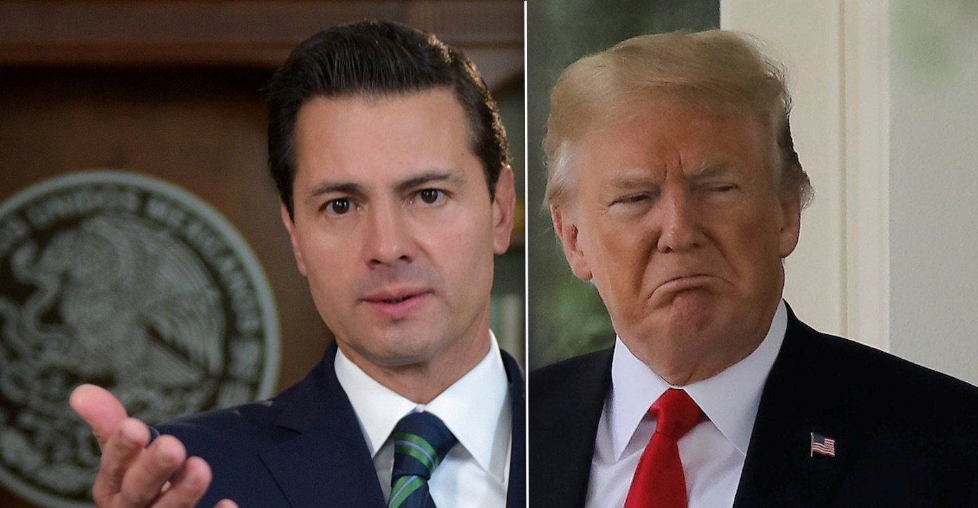 Enrique Pena Nieto Donald Trump