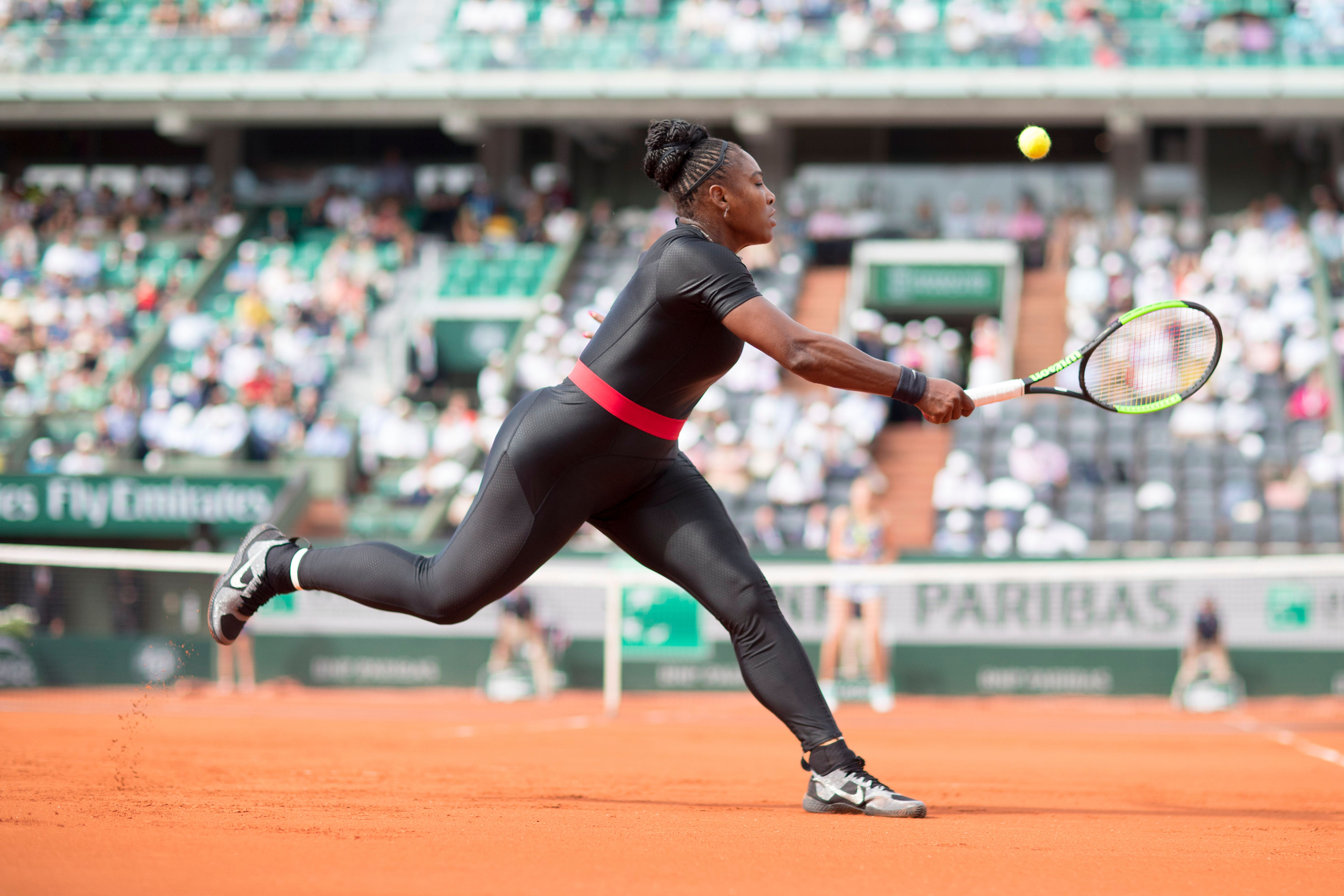 Serena Williams Wears Catsuit To Represent Mums Who Come Back Fierce After A Tough