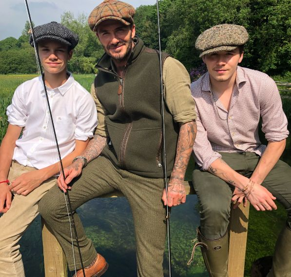 Looks We Love: The Beckhams Channeling 'Peaky Blinders' In Baker Boy