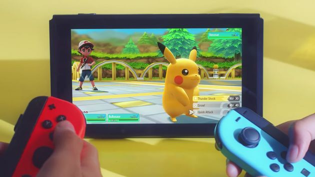 Pokemon: Let's Go For Nintendo Switch Is A GameBoy Classic In