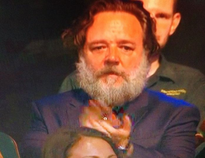 Yes, That Was Russell Crowe You Spotted In The 'Britain's Got Talent' Studio Audience