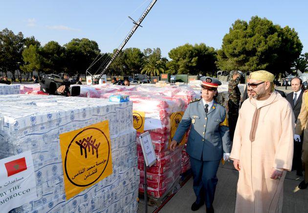 Le Maroc envoie de l'aide humanitaire aux