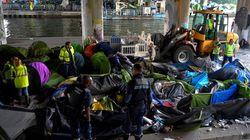 France: évacuation du plus grand campement de migrants à