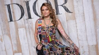 CHANTILLY, FRANCE - MAY 25:  Paris Jackson attends the Christian Dior Couture S/S19 Cruise Collection Photocall At Grandes Ecuries De Chantillyon May 25, 2018 in Chantilly, France.  (Photo by Francois G. Durand/WireImage)