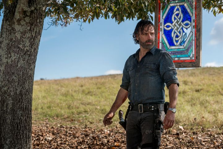 """Andrew Lincoln in """"The Walking Dead."""""""
