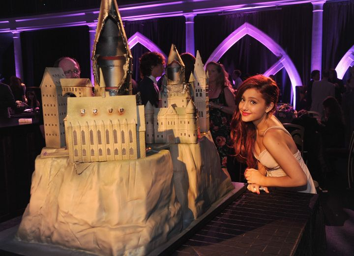 "Ariana Grande attended the premiere of ""Harry Potter and the Deathly Hallows: Part 2"" in New York in July 2011."