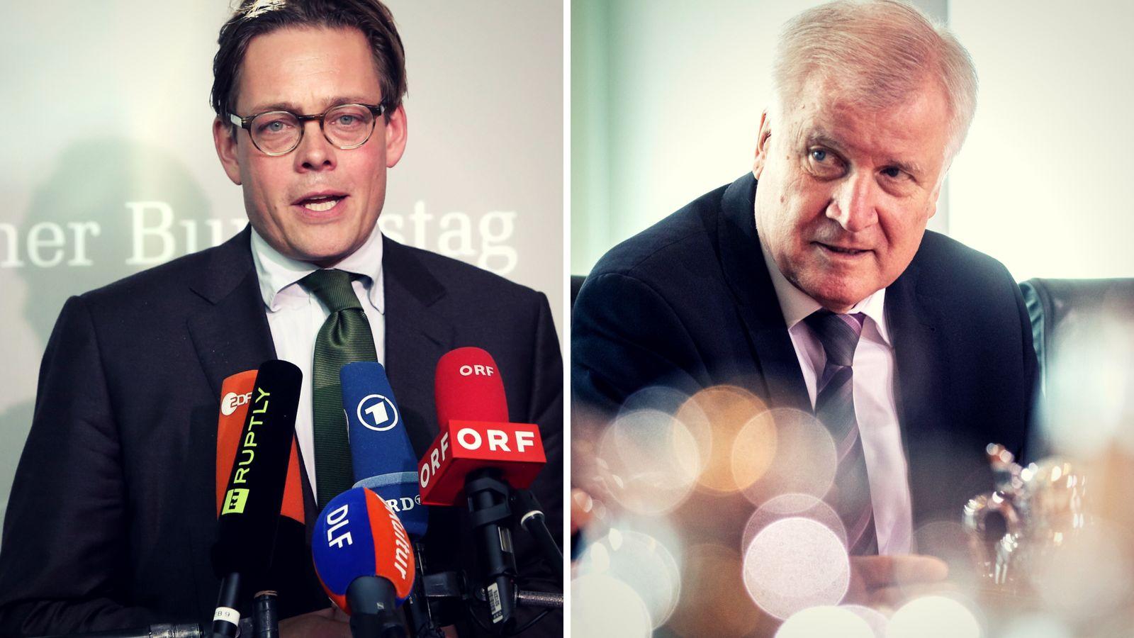 Bamf-Skandal: Grünen-Politiker glaubt, Seehofer will Aufklärung hinauszögern