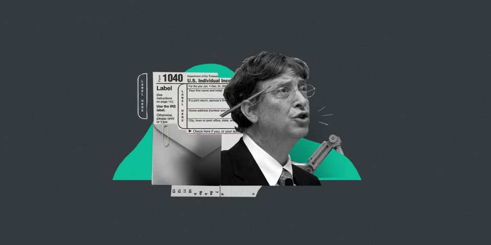 Bill Gates said he believes taxing machines could slow the pace of automation, giving people a chance...