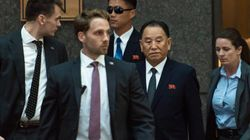 미국의 '철통 경호' 속에 북한 김영철이 뉴욕에 입성하다