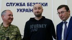 우크라이나에서 피살됐다던 러시아 기자가 '살아서'