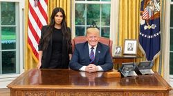 킴 카다시안이 백악관에서 도널드 트럼프를